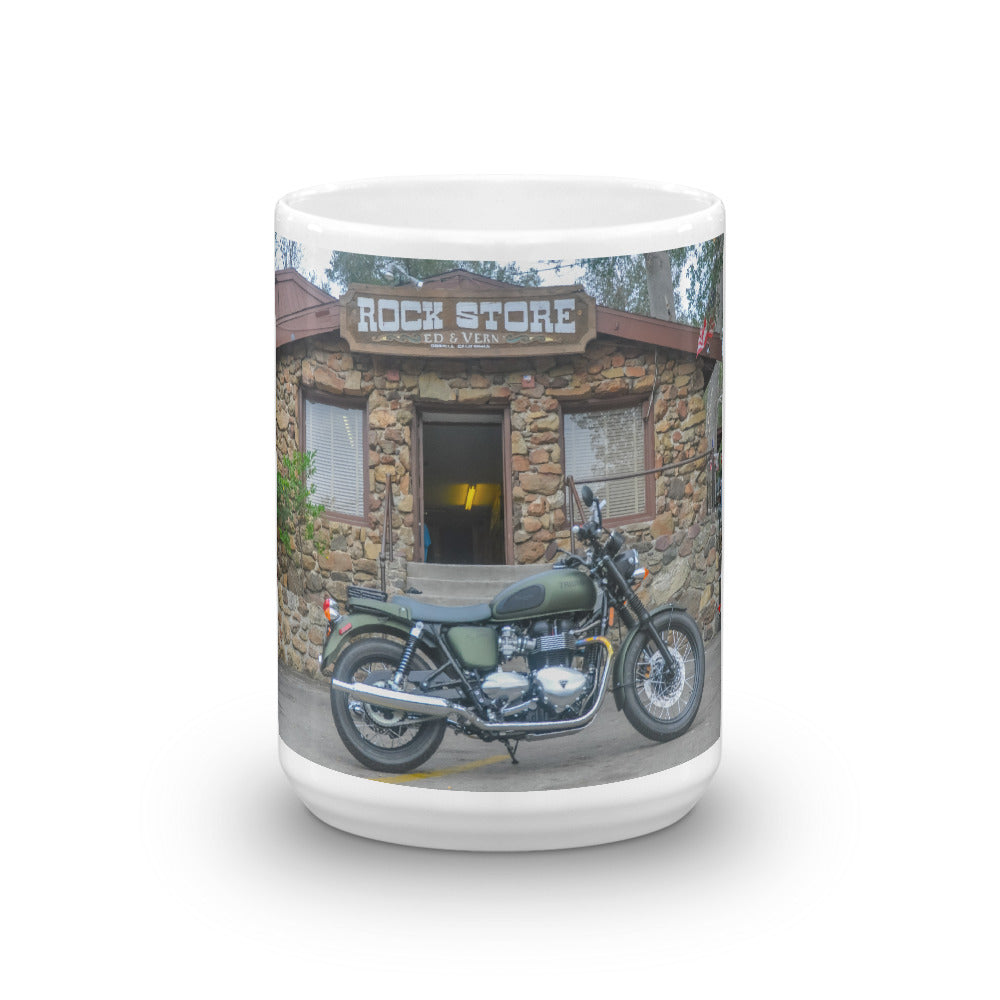 Steve McQueen Edition Triumph T100 at the Rock Store