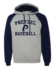 Pretzel Baseball Color Block Hoodie -96CR