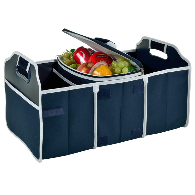 Pretzles Collapsible Trunk Organizer With 21 Can Cooler