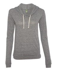 LADIES Classic Hooded Pullover T-Shirt - 1928