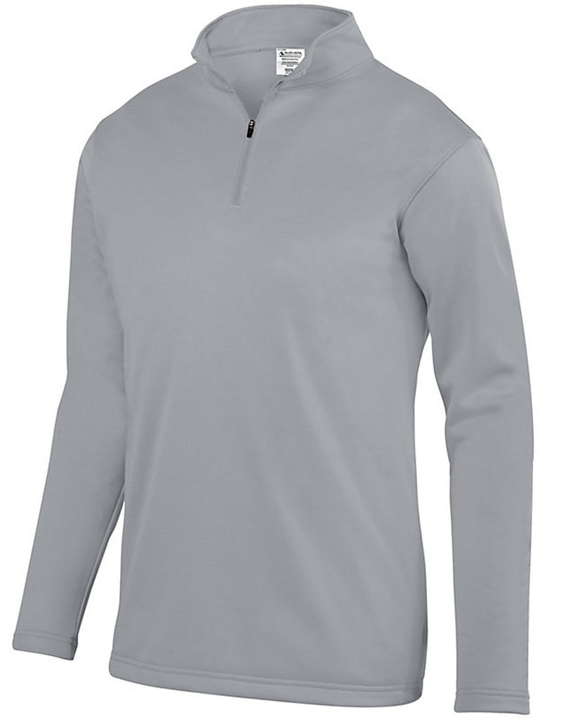 Augusta Sportswear-Wicking Fleece Quarter-Zip Pullover - 5507(SHOWN IN ATHLETIC GREY)