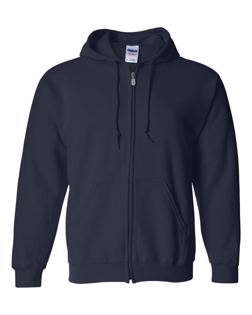 FULL ZIP HOODED SWEATSHIRT TALLS - PC90HZT(SHOWN IN NAVY)