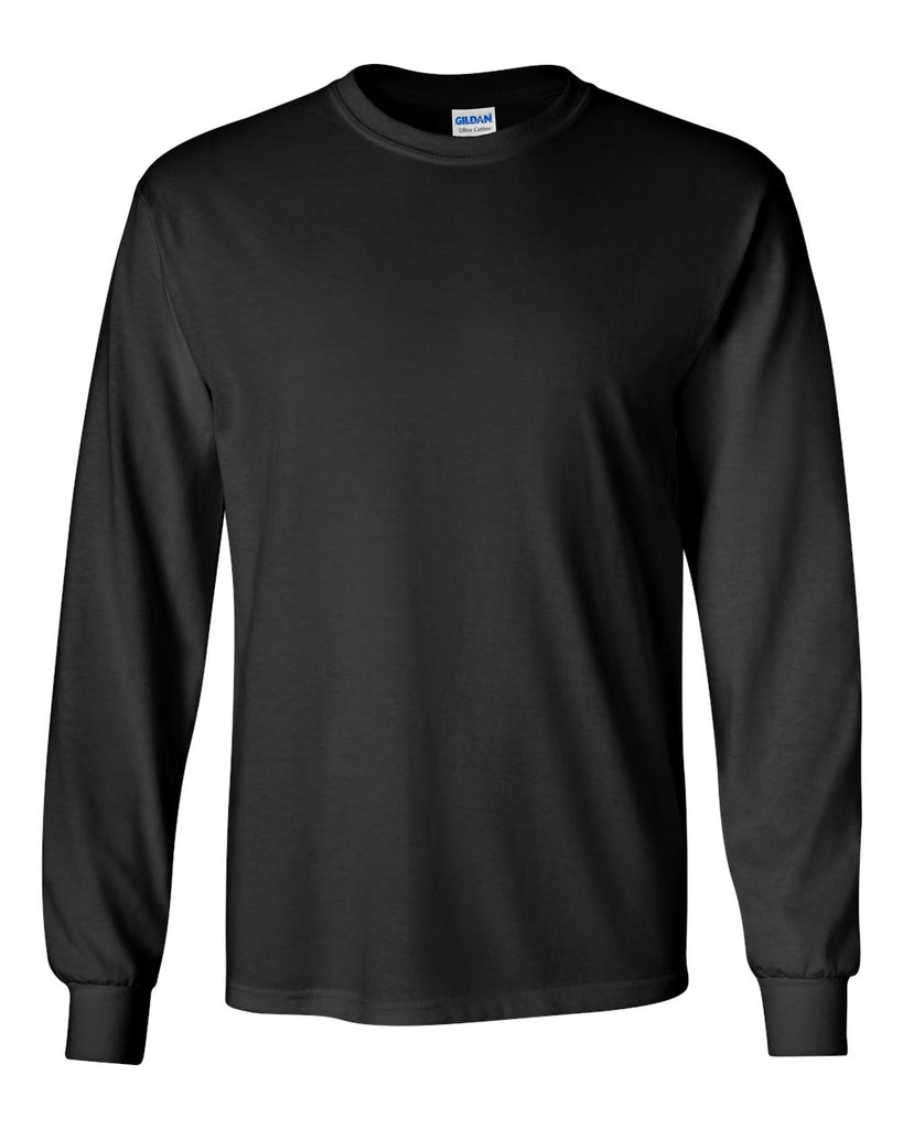 GILDAN LONG SLEEVE TEE - 2400(SHOWN IN BLACK)
