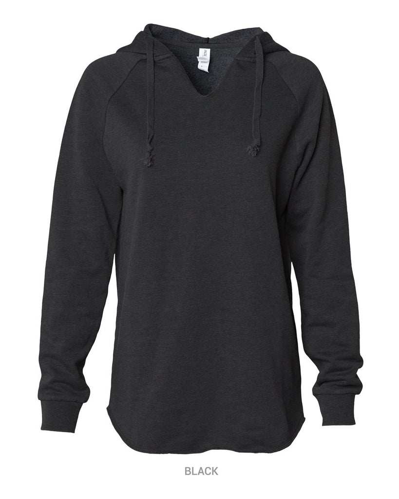 LADIES Wavewash Hooded Pullover Sweatshirt - PRM2500