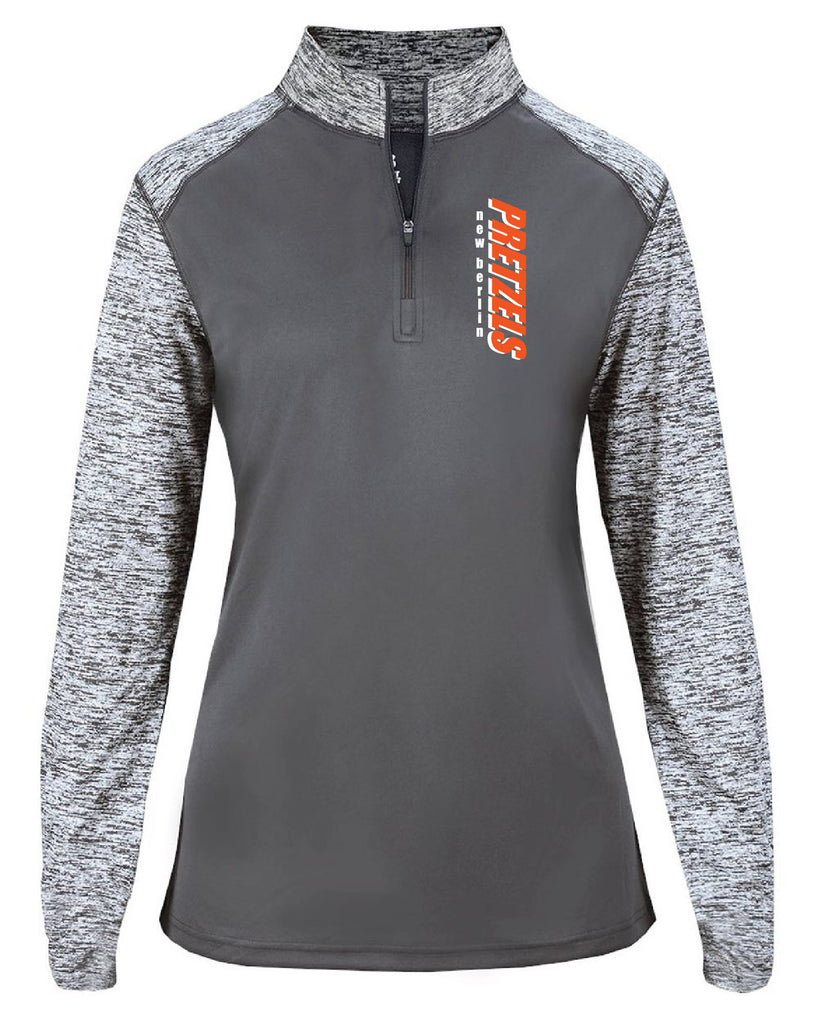 Badger - Sport Blend Ladies 1/4 Zip-4198