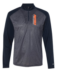 Badger - Pro Heather Quarter-Zip Pullover - 4394