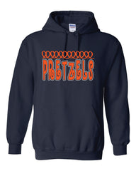Pretzels Glitter Hoodie Youth and Adult