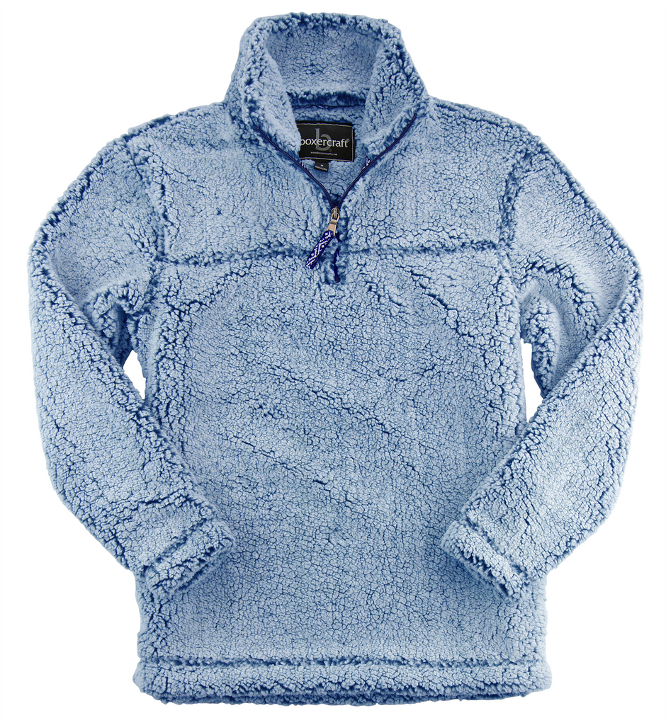 Sherpa Pullover with Embroidery - Q10