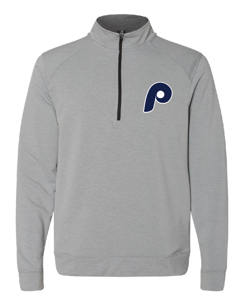 Pretzel Baseball Quarter Zip with Embroidery - 8434/8433