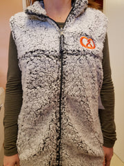 Sherpa Vest with Embroidery - Q11