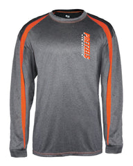 Badger - Pro Heather Fusion Long Sleeve T-Shirt - 4350