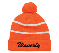 Waverly Scotties Stocking Cap with Embroidery