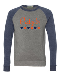 Pretzels Unisex Eco-Fleece™ Champ Colorblocked Crewneck Sweatshirt - 32022