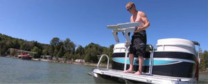 Revolutionary Pontoon Ladder: New REVO A True Game-Changer
