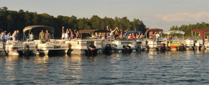 Party on the Houseboat | Pontoon-Depot