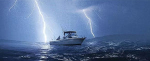 How to Survive Lightning Storms While Boating