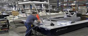Hot Springs Expanding Pontoon Boat Production