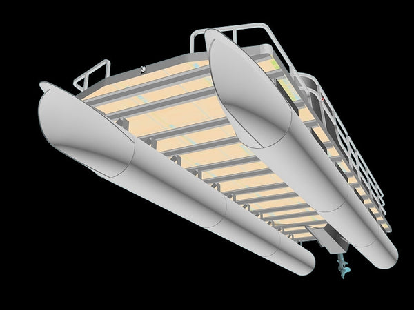 The 3 Basic Shapes of Pontoons Designs - Their Pros & Cons - Pontoon Depot