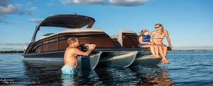 BEAT THE SUMMER HEAT ON YOUR PONTOON BOAT