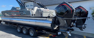 Avalon Pontoon Makes National Debut At Roar Offshore