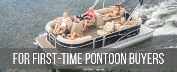 BUYING YOUR FIRST PONTOON BOAT | Pontoon-Depot