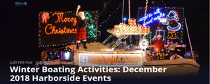 Winter Boating Activities: December 2018 Harborside Events