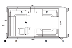 Create your own Custom Pontoon Boat Layout