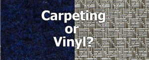 An End to the Classic Pontoon Flooring Debate: Carpet or Vinyl?