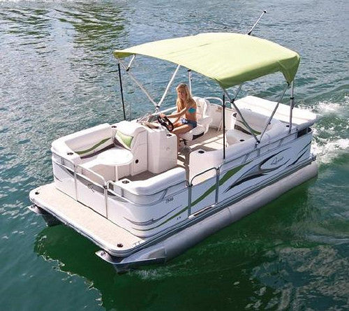 Electric Pontoon Boats: Different Engines, Same Flooring Needs