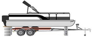How to Lift Your Pontoon Boat off the Trailer Bunks