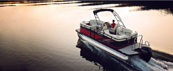 Low-budget pontoons designed to maximize family fun
