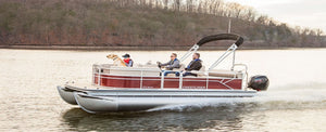 Crestliner Pontoons: Forged with Strength. Defined by Durability.