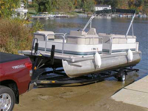How to Unload and Load Your Pontoon Boat on the Boat Trailer