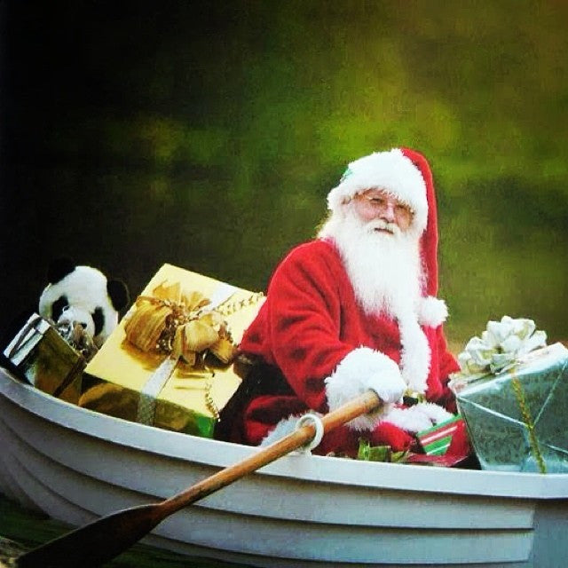 Hey Boat Santa! Christmas is Here and We're Your Elves