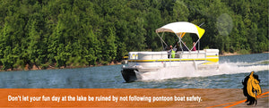 Practice Pontoon Boat Safety for a Fun Time at the Lake
