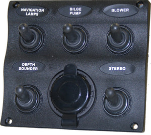 Marine Splash Proof Switch Panel