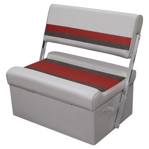 Wise Deluxe Pontoon Series, Flip Flop Bench Seat