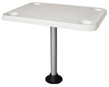 Wise Square Pontoon Table with Cupholders - Pontoon Depot