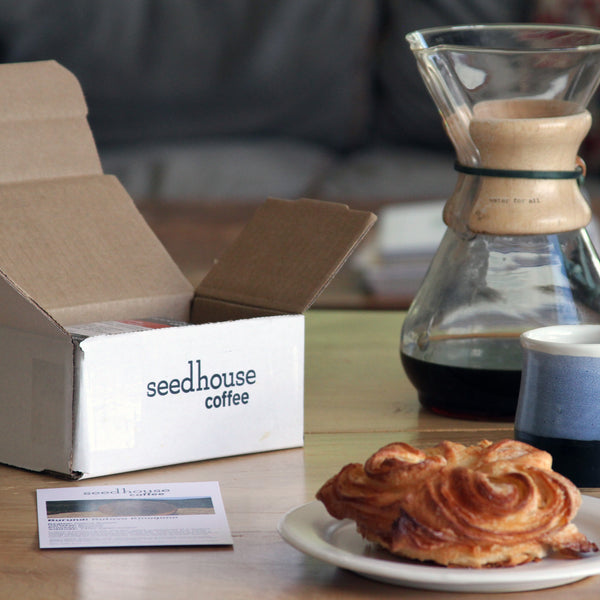 Seedhouse Coffee 12 Month Gift Subscription