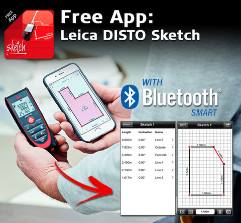 leica disto d2  Leica Disto D2 BT – Swift Survey