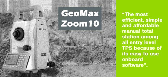 GeoMax Zoom10 Total Station