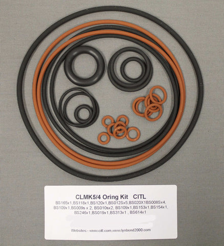 O Ring Kit for CL 8200 MK 4/5