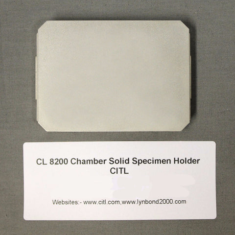 Solid Specimen Holder Block for CL 8200 MK 2/3/4/5