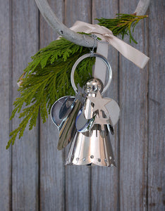 Silver Angel hanging decoration