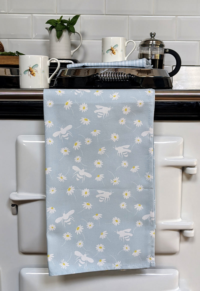 Daisy & Bee Tea Towel