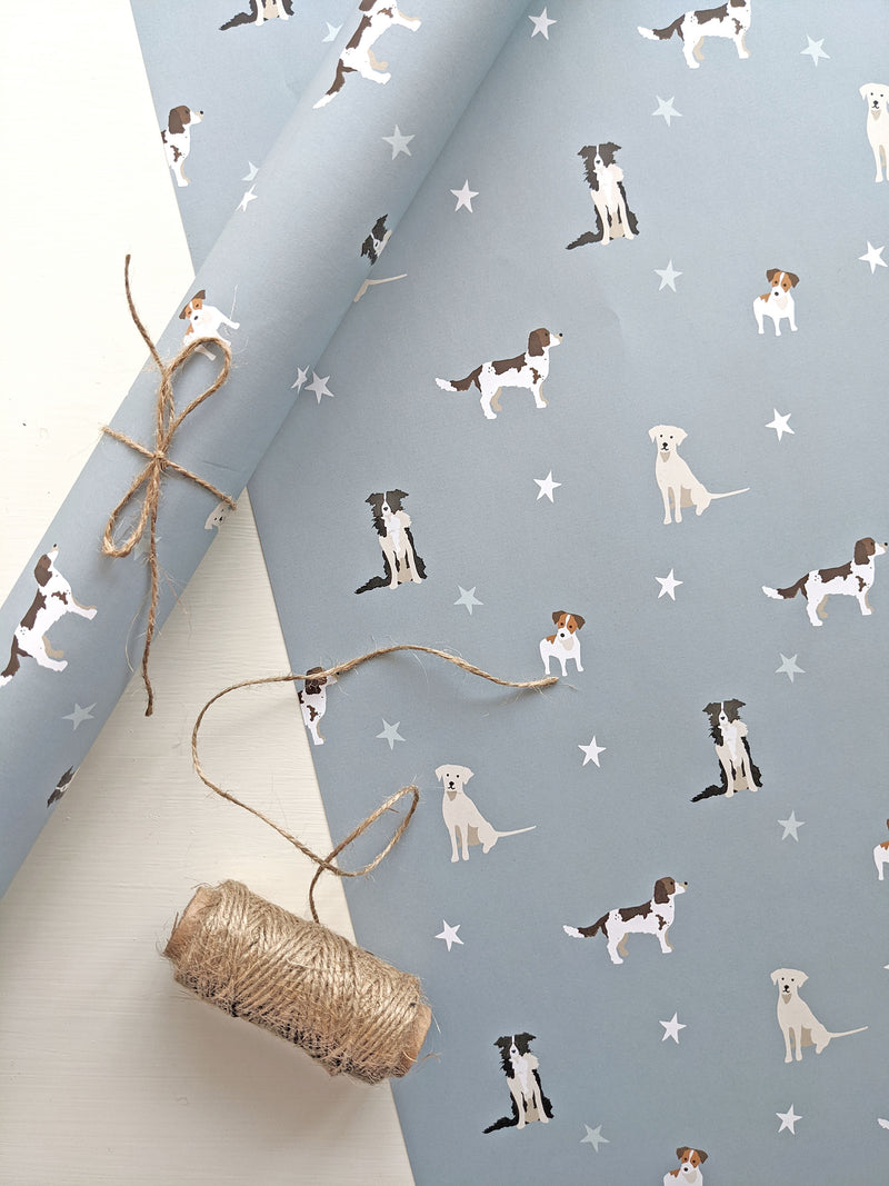 Dogs Gift Wrap Sheet