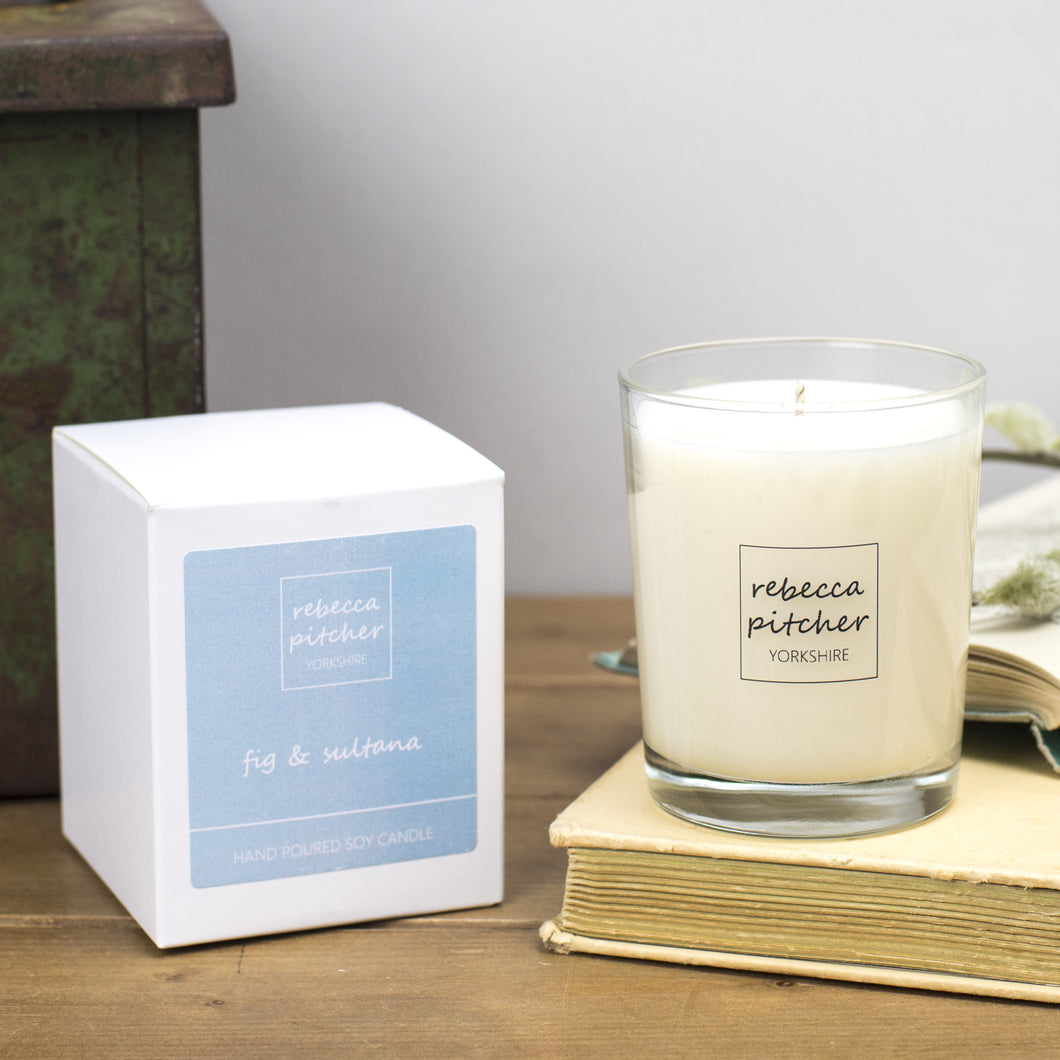 Fig & Sultana Luxury Candle