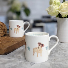 Load image into Gallery viewer, Jack Russell Fine Bone China Mug