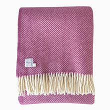 Large Mulberry Wool Throw
