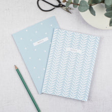 Duck Egg Blue A5 Notebooks